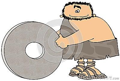 Caveman And The Wheel
