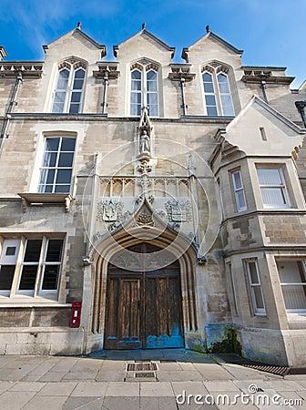 Cavendish laboratories, Cambridge University.