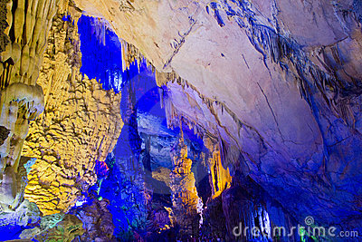Cavern in Guilin, China
