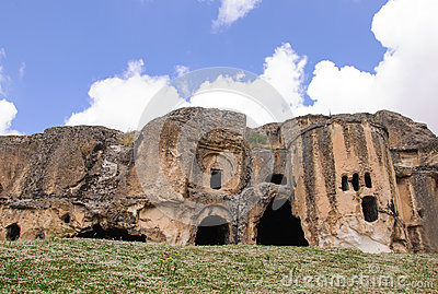 Caves in Anatolia, Turkey