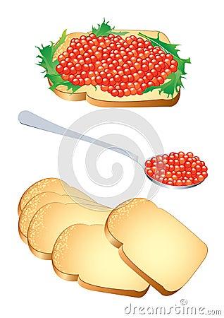 Caviar vermelho