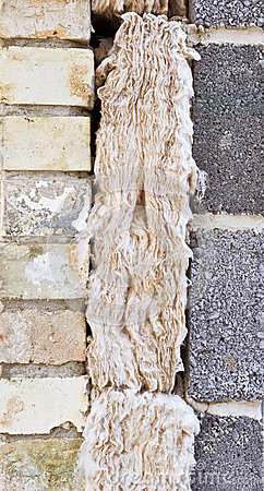 Cavity insulation Stock Photo