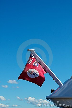 Cayman Islands red nautical flag