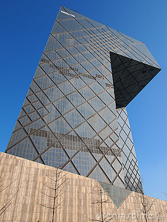 CBD-Beijing city Economic centers-CCTV Tower