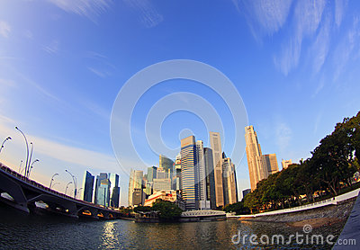 CBD Singapore Editorial Image