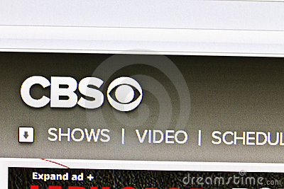 CBS Editorial Stock Photo