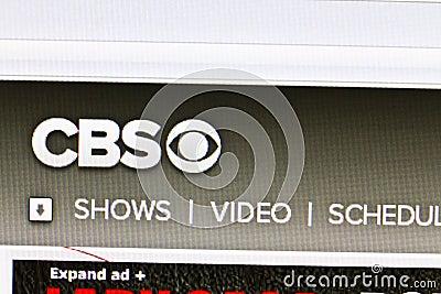 CBS Editorial Stock Photo