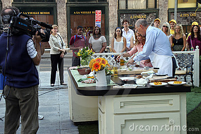 CBS Morning Show Editorial Photography
