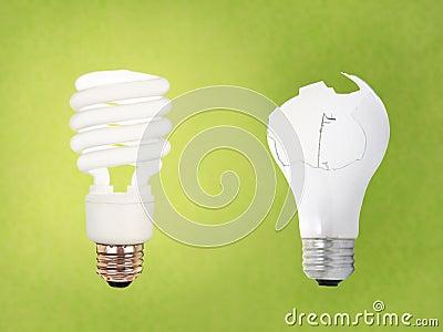 CCFL vs broken regular bulb
