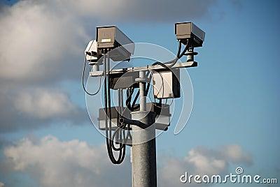 CCTV cameras, England