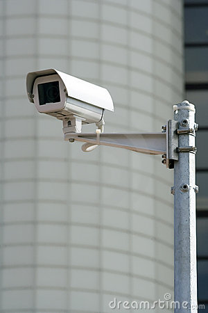 Free CCTV Security Camera Royalty Free Stock Photo - 2351785