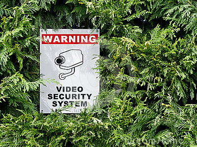 Cctv signboard