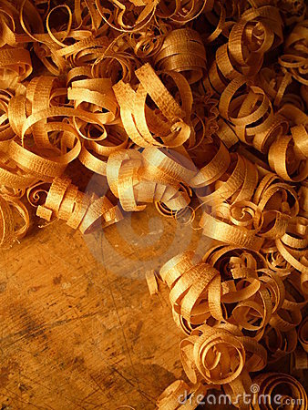 CCurly Wood Shavings