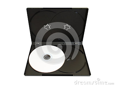 CD Box with disc