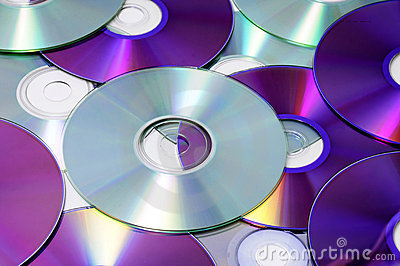 CD, CD-ROM and DVD