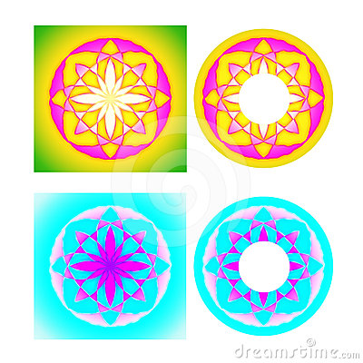 Cd cover floral design