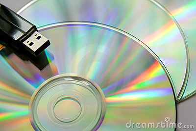 Cd disks with USB flash