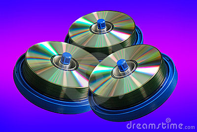 CD and DVD disc