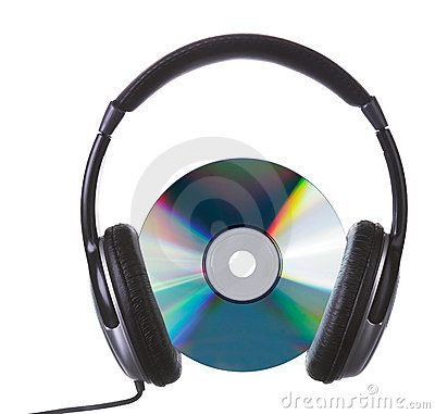 Free Cd&headphones Royalty Free Stock Photo - 2401185