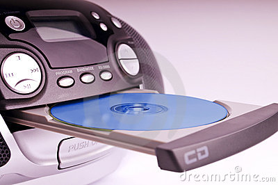 Cd Player Stock Photos - Image: 13621453