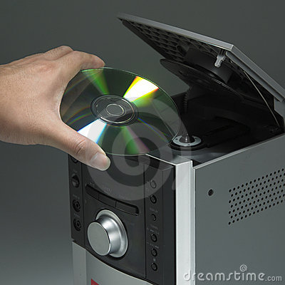 Free Cd Player Royalty Free Stock Photography - 14416617