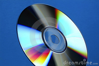 Cd-Rom or DVD rainbow