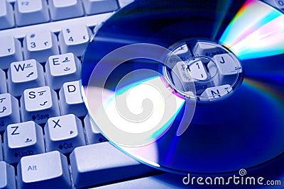 CD s & keyboard