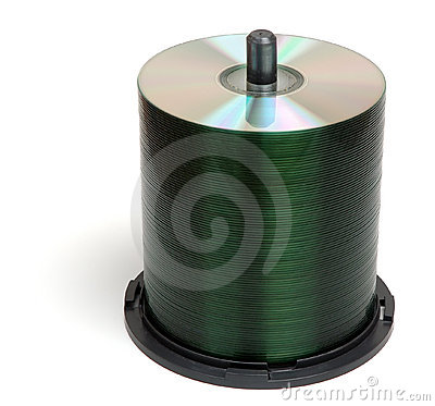 Free CD Stack Royalty Free Stock Photography - 434157