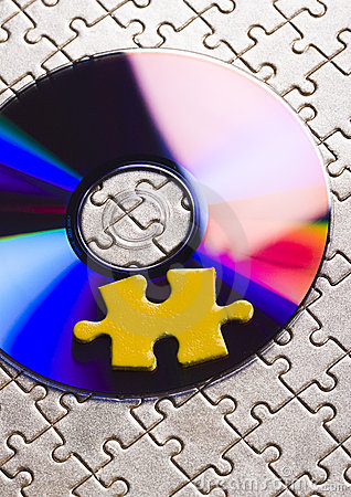 Free Cds On Jigsaws Stock Photo - 3038600