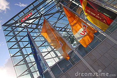 CDU Building Editorial Image