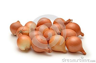 Cebollas aisladas