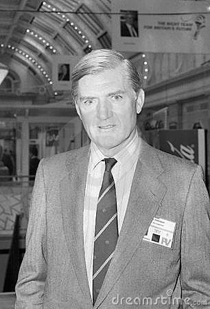 Cecil Parkinson Editorial Stock Photo
