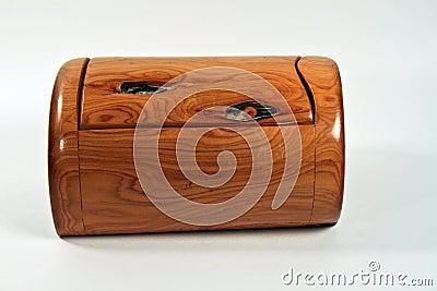 Cedar Box in isolation