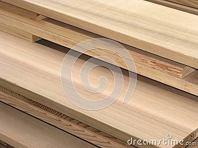 Cedar Lumber Pile - 3