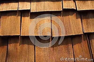 Cedar Wood Shingles Up-Close