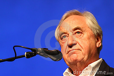 Cees Nooteboom, writer Editorial Stock Image