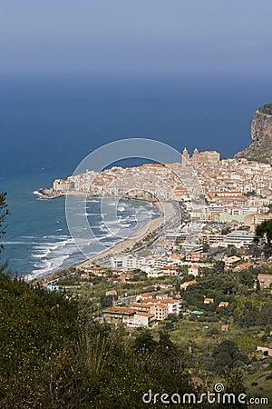 Cefalù landscape