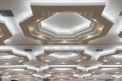 Ceiling Stock Photography - Image: 12790152