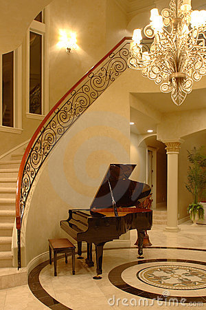 Free Ceiling Art In A Mansion Stock Images - 5777714