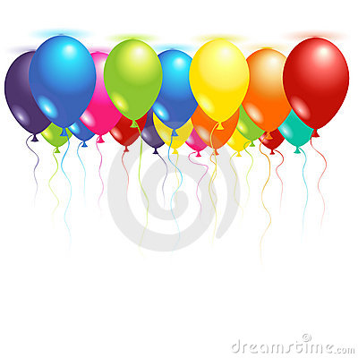 Free Ceiling Balloons Royalty Free Stock Photography - 7589557
