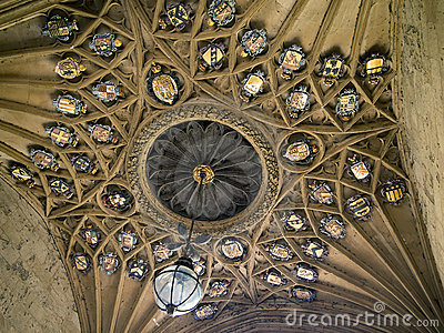 Ceiling of Christ Church College