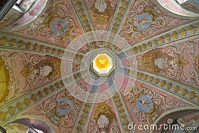 Ceiling Church Mural