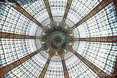 Ceiling in Galleries Lafayette
