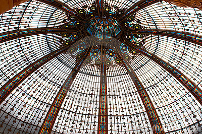 Ceiling in Galleries Lafayette