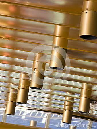 Ceiling lights abstract
