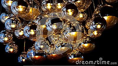Ceiling lights graphic design