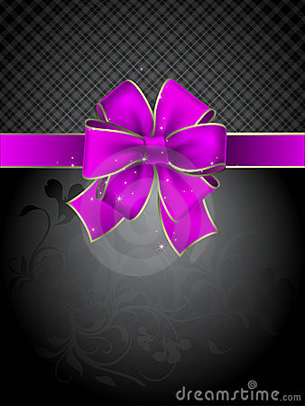 Celebrate bow background