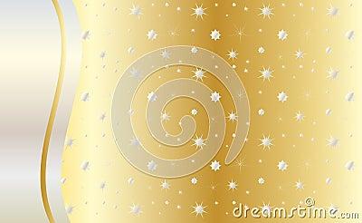 Celebrate gold background vector