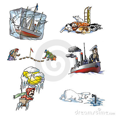 The celebrated explorer in Arctic_1