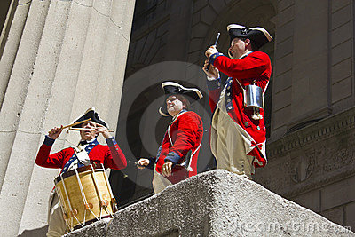 Celebrating the American Revolution Editorial Photo